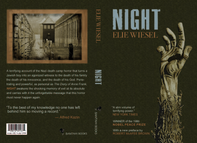 essay theme book night elie wiesel Night essays are academic essays for citation these papers were written primarily by students and provide critical analysis of night by elie wiesel.